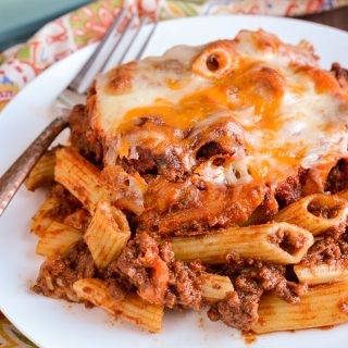 Syn Free Sloppy Joe Pasta Bake