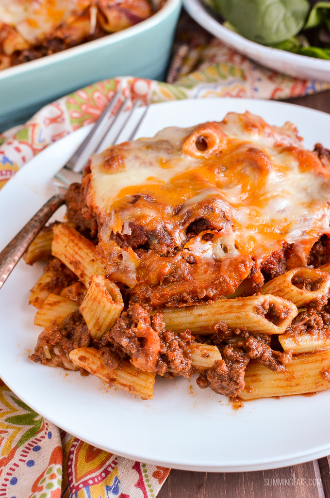 Syn Free Sloppy Joe Pasta Bake - gluten free, Slimming World and Weight Watchers friendlySyn Free Sloppy Joe Pasta Bake - gluten free, Slimming World and Weight Watchers friendly