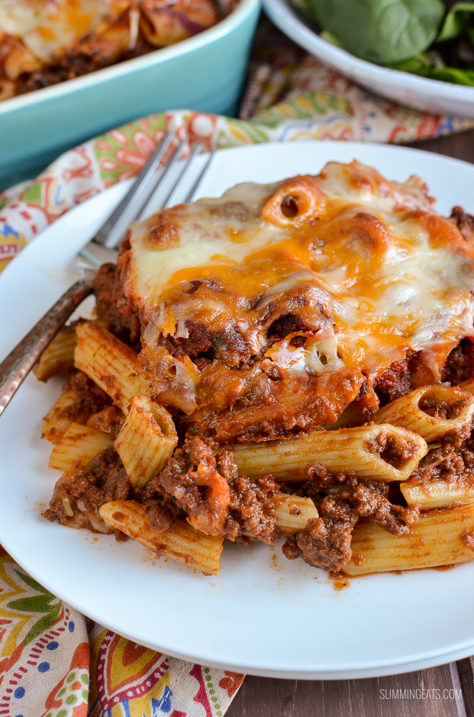 Syn Free Sloppy Joe Pasta Bake - gluten free, Slimming World and ...