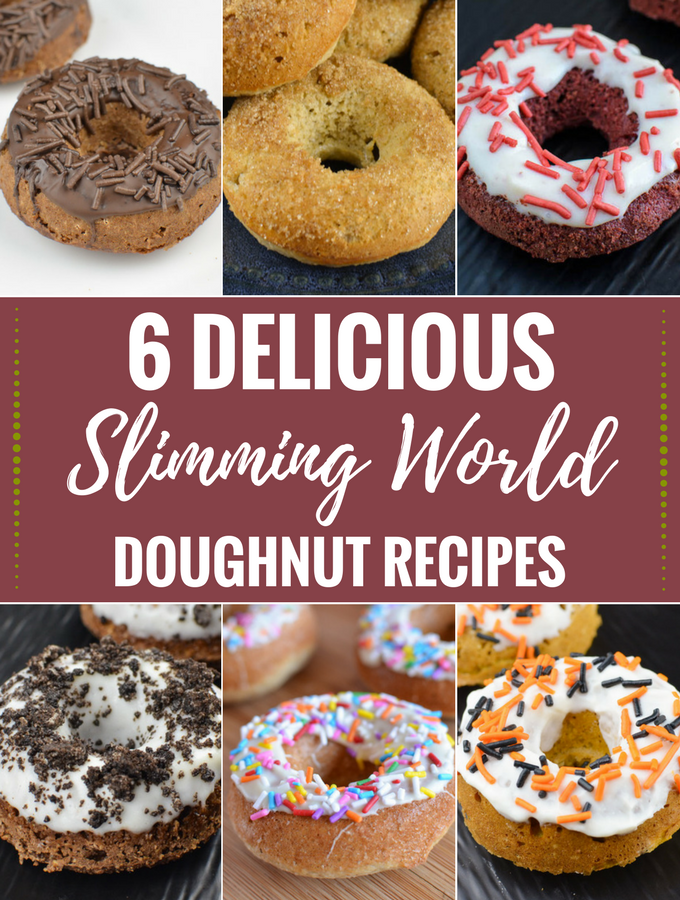 Slimming Eats - 6 Delicious Slimming World Doughnut Recipes, you just have to try.