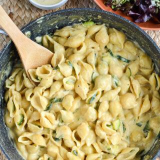 Syn Free One Pot Creamy Zucchini Pasta