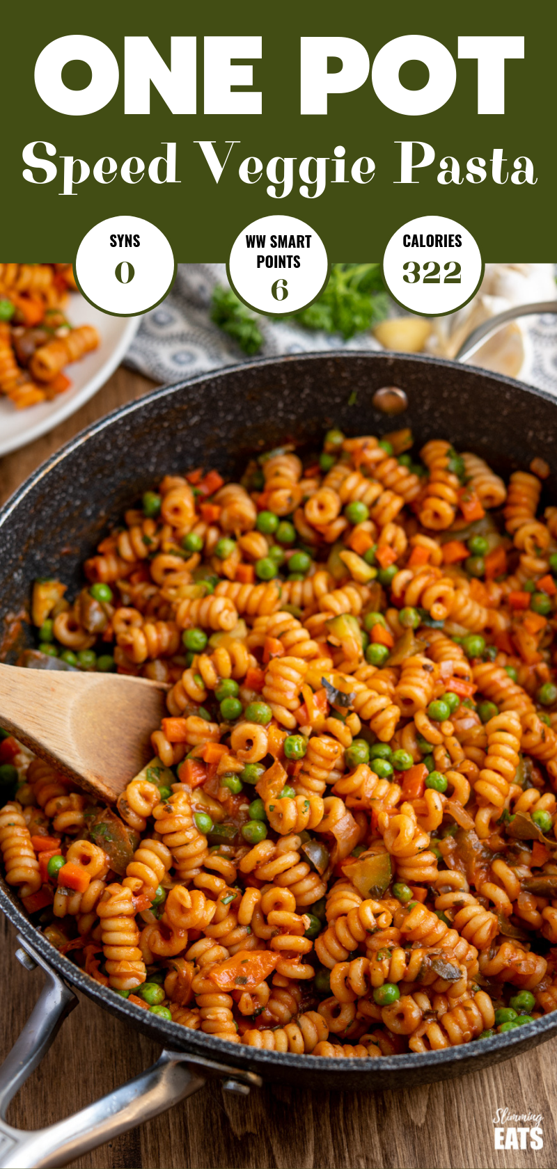 one pot speed pasta pin image