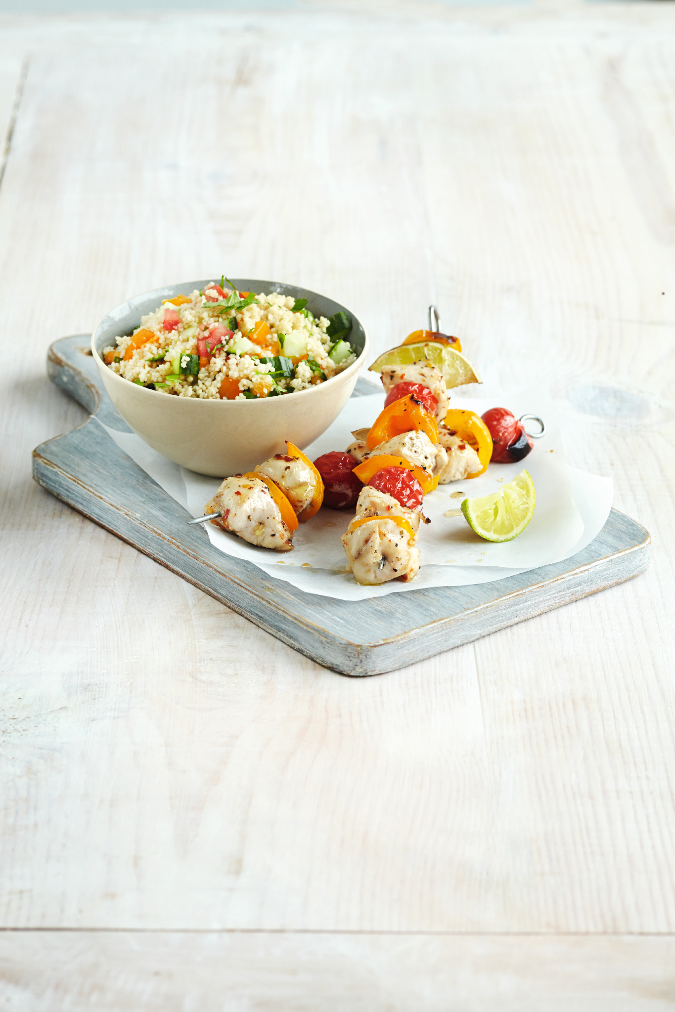 Syn Free Piri Piri Chicken Salad - gluten free and Slimming World friendly - recipe provided to Slimming Eats by Slimming World USA