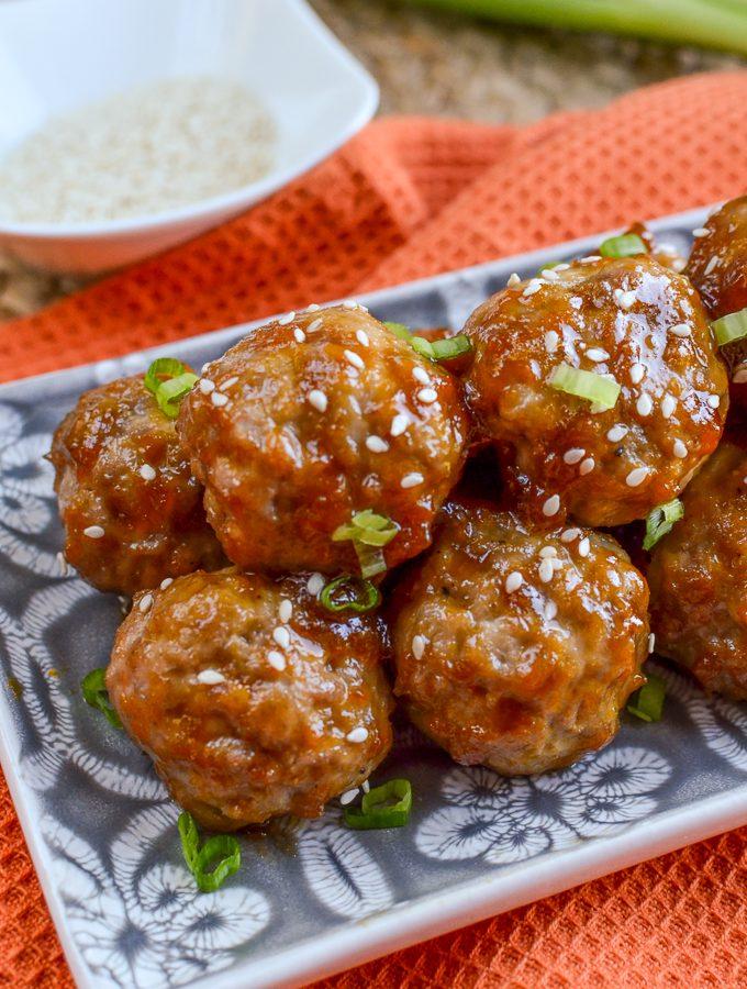 Apricot Chicken Meatballs