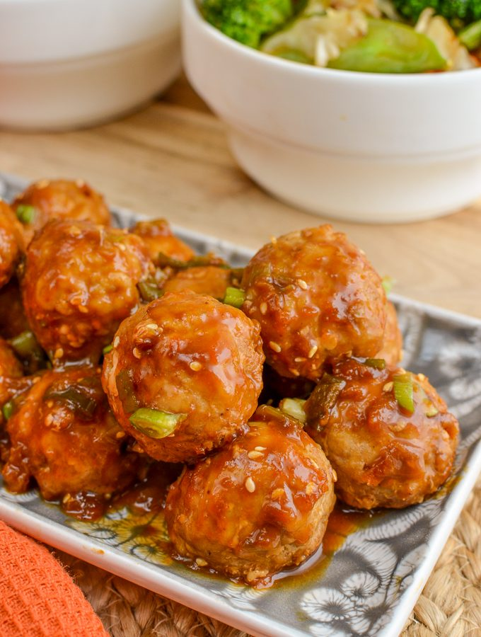 Apricot Chicken Meatballs