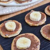 Low Syn Mini Chocolate Banana Pancakes