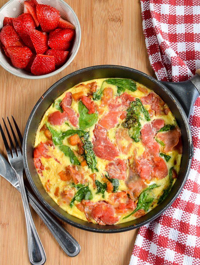 Syn Free Speedy Breakfast Frittata
