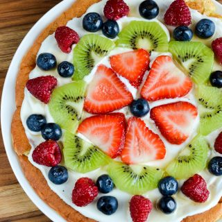 Low Syn Fruit Pizza