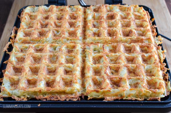 Syn Free Crispy Golden Hash Brown Waffle