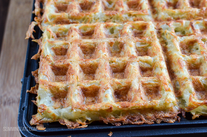 Syn Free Crispy Golden Hash Brown Waffle
