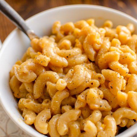 One Pot Marmite Macaroni and Cheese