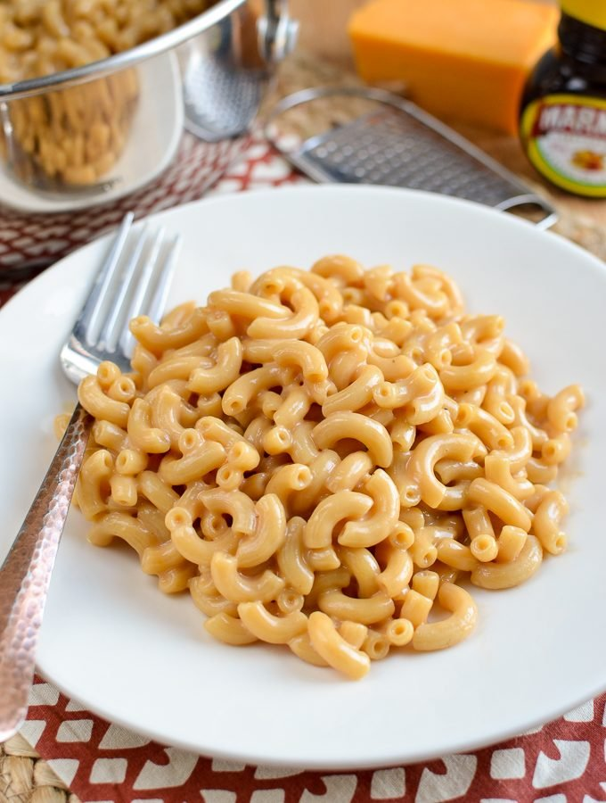 One Pot Marmite Macaroni and Cheese