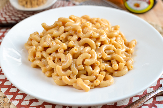 Slimming Eats One Pot Marmite Macaroni and Cheese - vegetarian, Slimming World and Weight Watchers friendly