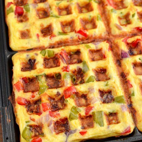 Easy Syn Free Waffle Omelette