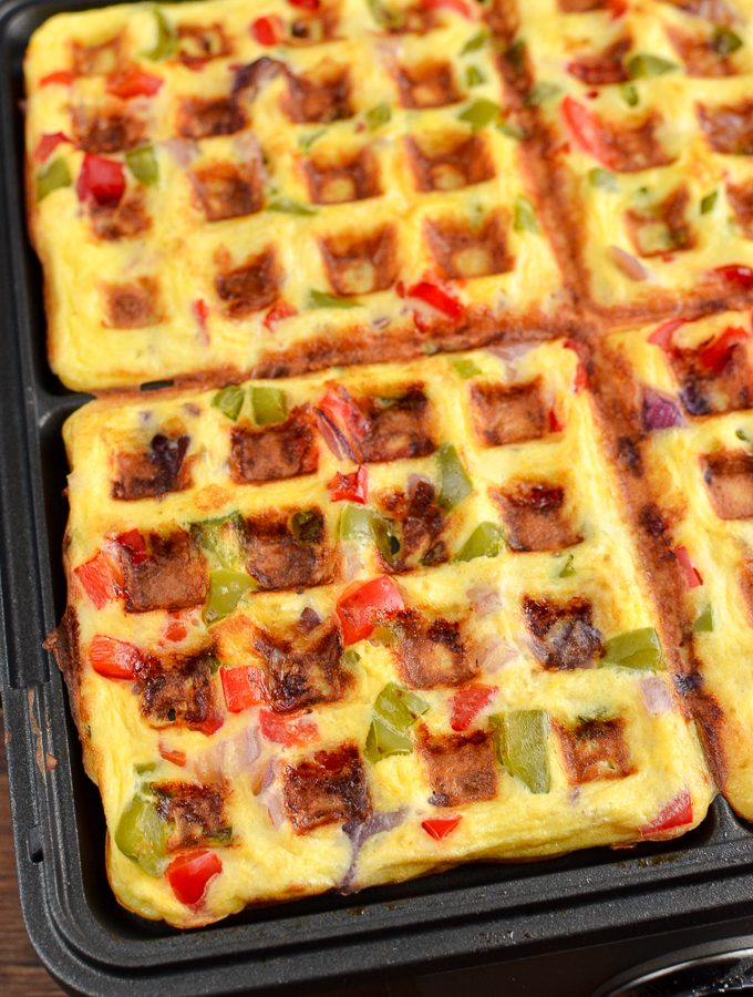 Easy Syn Free Waffle Omelette | Slimming World