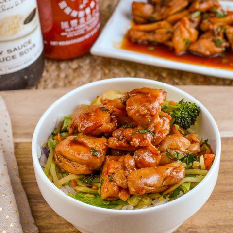 Quick Sriracha Chicken