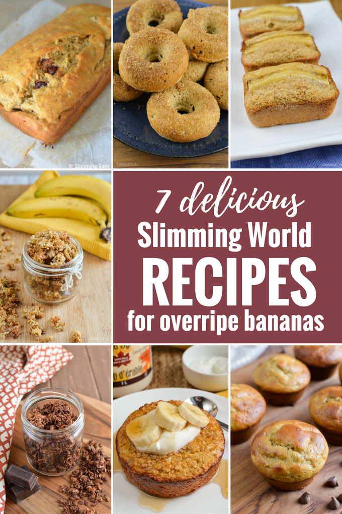 7 Delicious Slimming World Recipes To Make With Overripe Bananas