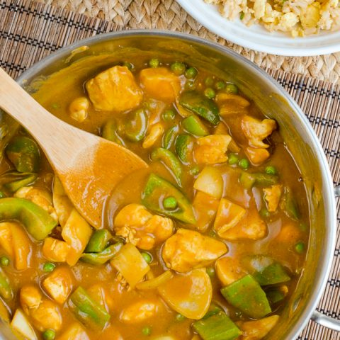 Syn Free Chinese Chicken Curry