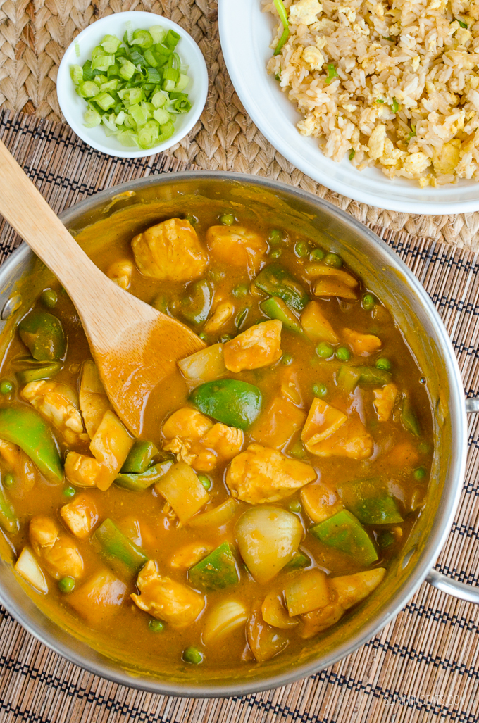 Syn Free Chinese Chicken Curry Slimming World Recipes