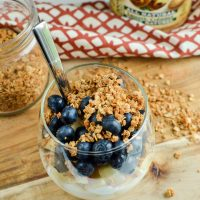 3 Ingredient Peanut Butter Granola
