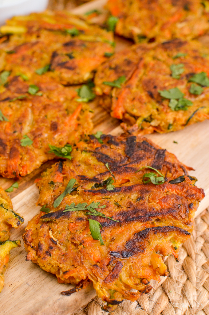 Slimming Eats Healthy Delicious Low Syn Vegetable Pakoras - gluten free, dairy free, vegetarian, Slimming World and Weight Watchers friendly