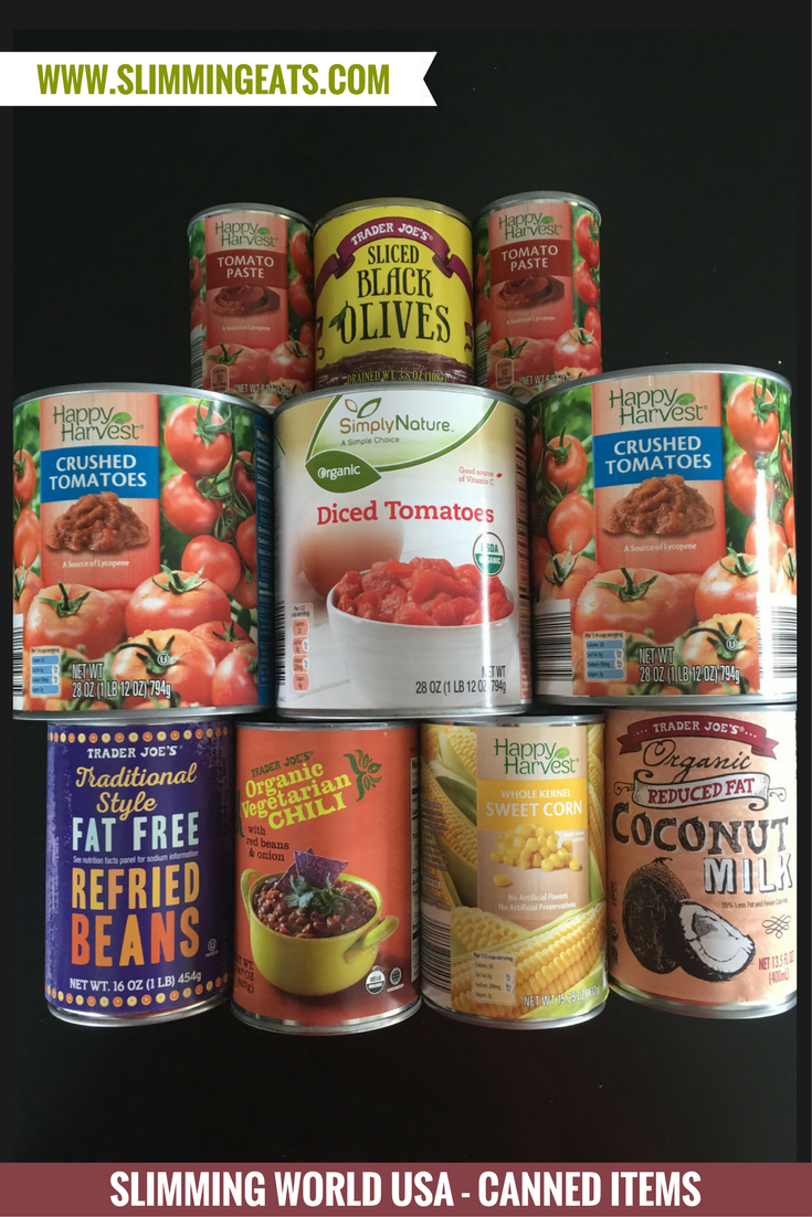 Slimming World Grocery Haul - Trader Joe's and Aldi - August 2017