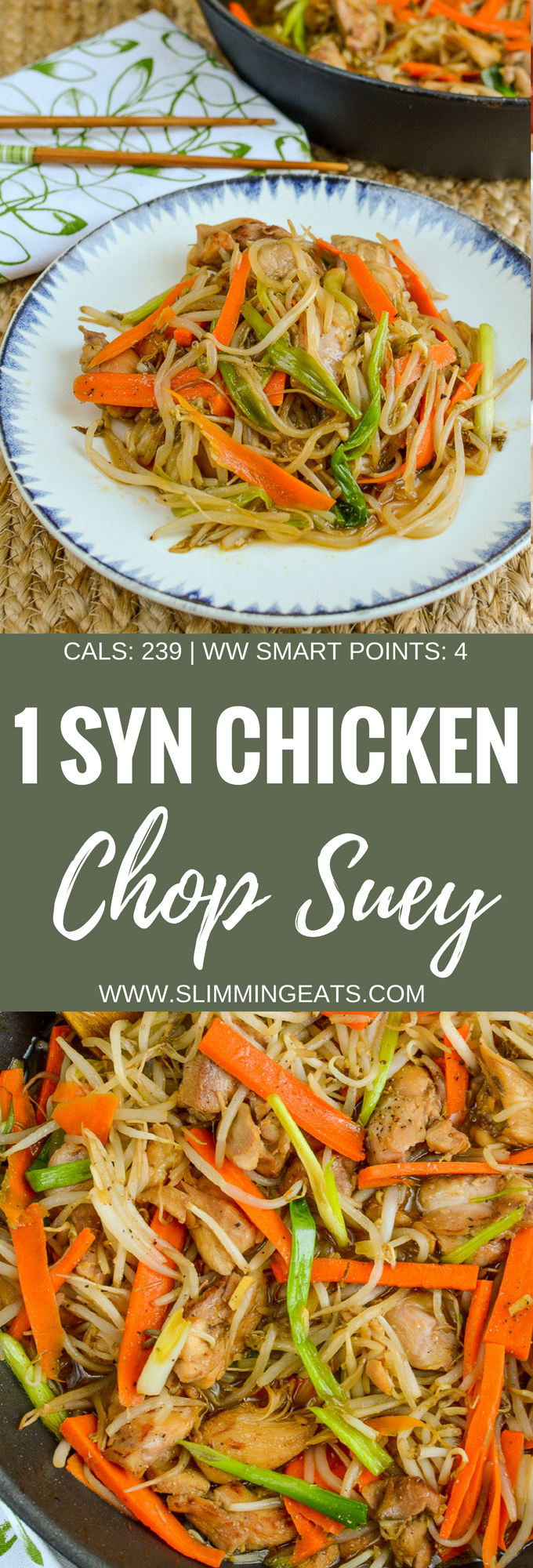 Low Syn Chicken Chop Suey - dairy free, Slimming World and Weight Watchers friendly