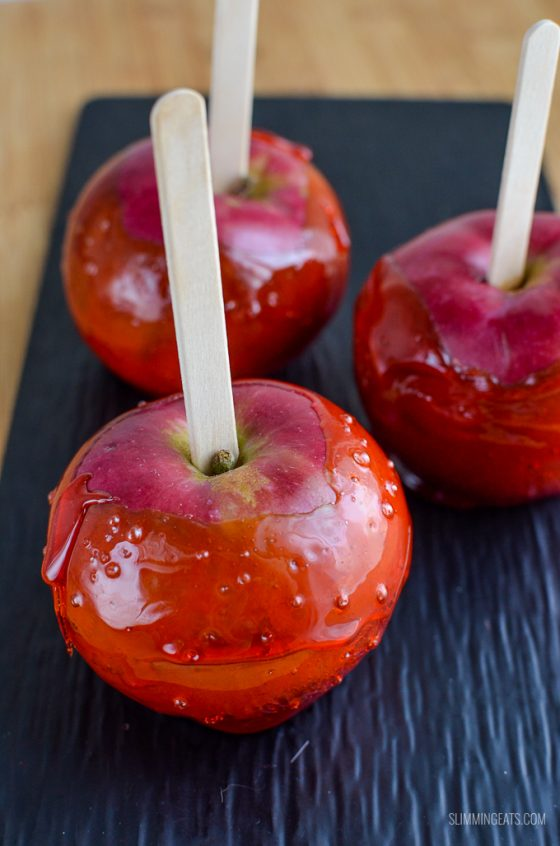 Low Syn Toffee Apples
