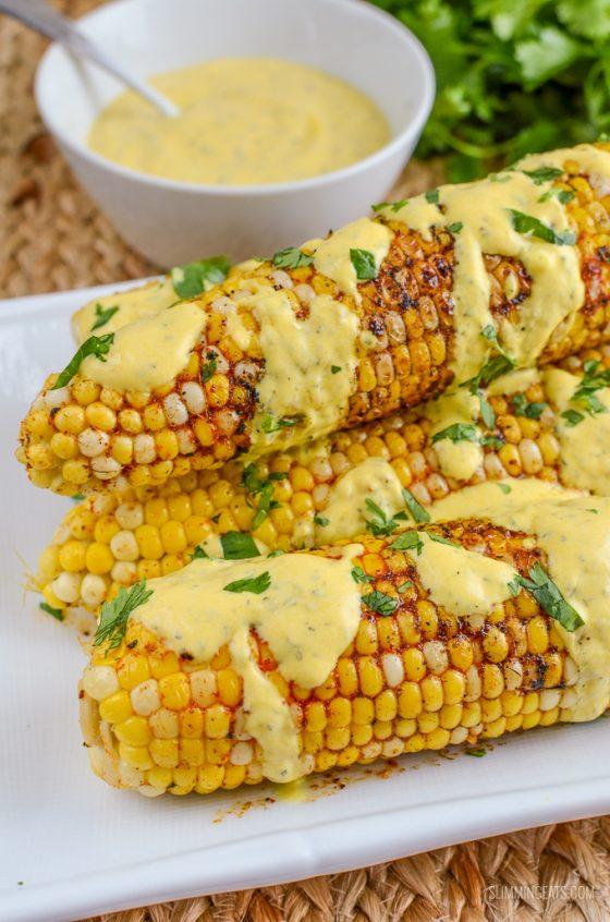 Indian Spiced Corn on the Cob