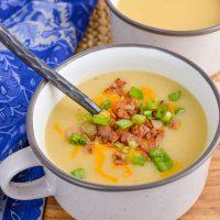 Syn Free Loaded Baked Potato Soup