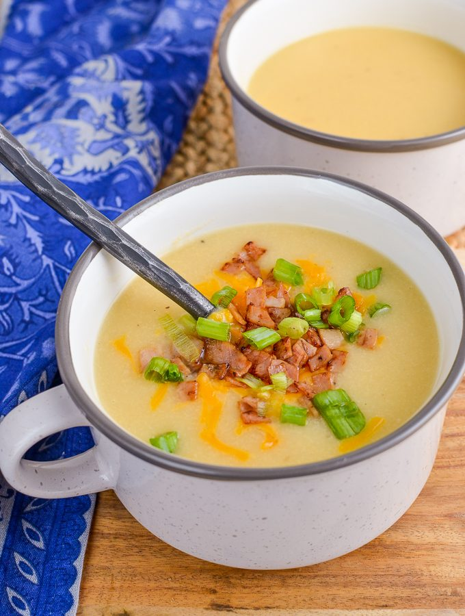 Syn Free Loaded Baked Potato Soup