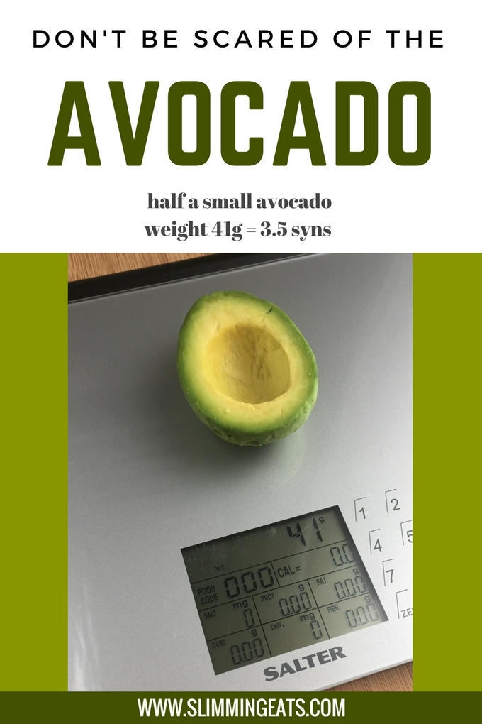 Slimming Eats - Avocado and Slimming World - if you have been avoiding avocado all this time believing it to be really high in syns, you need to read this post