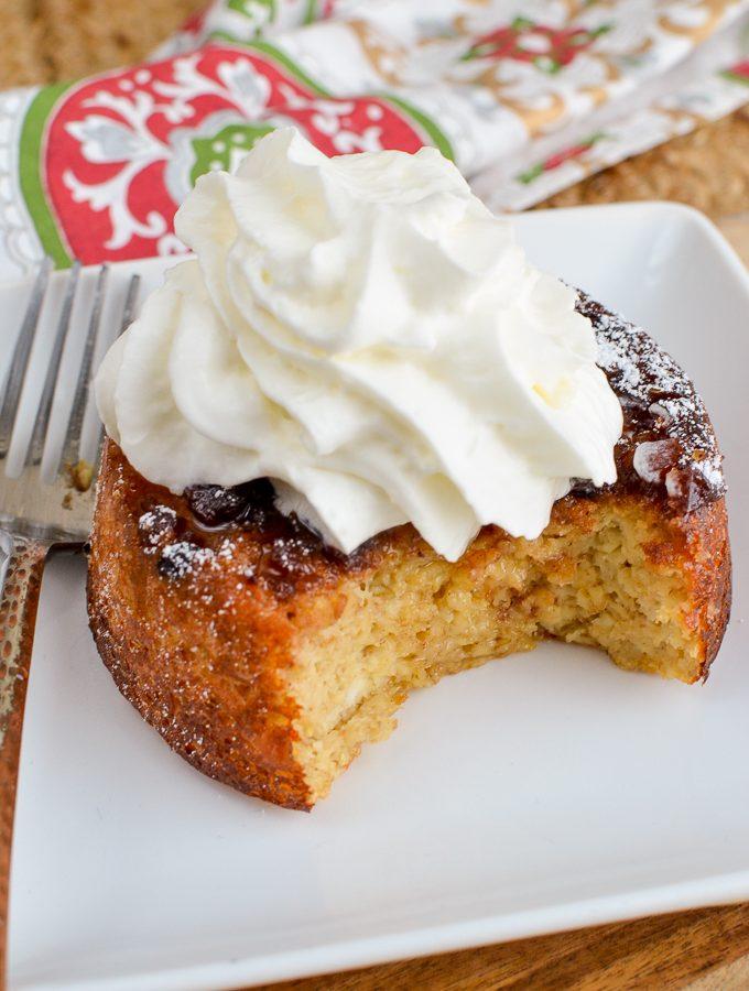 Mince Pie Baked Oats