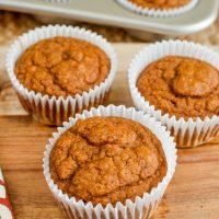 Pumpkin Sultana Muffins