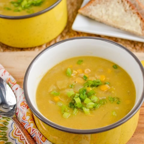 Syn Free Sweetcorn and Leek Soup