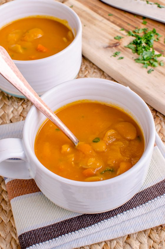 Syn Free Carrot and Butter Bean Soup   Slimming World