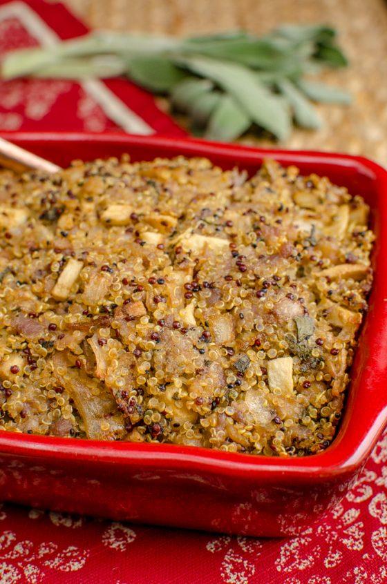 Low Syn Sausage Sage Onion Quinoa Stuffing   Slimming World