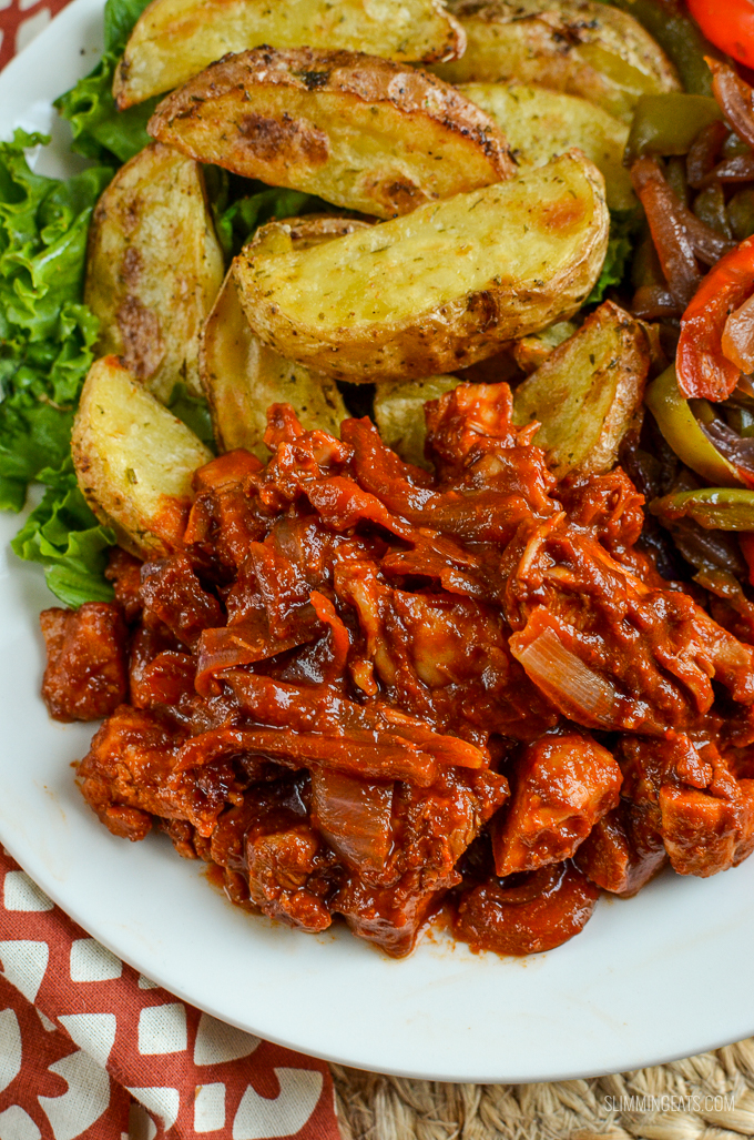 Slimming Eats Low Syn Stove Top BBQ Chicken - gluten free, dairy free, paleo, Slimming World and Weight Watchers friendly