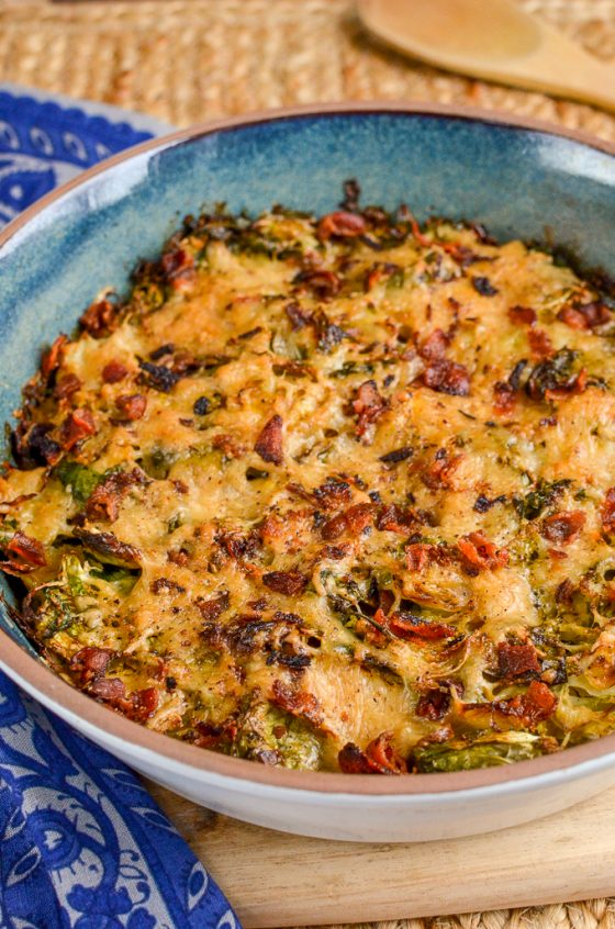 Syn Free Brussels Sprouts Gratin   Slimming World