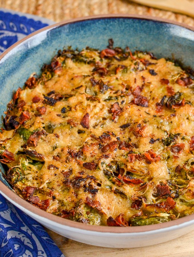 Syn Free Brussels Sprouts Gratin | Slimming World