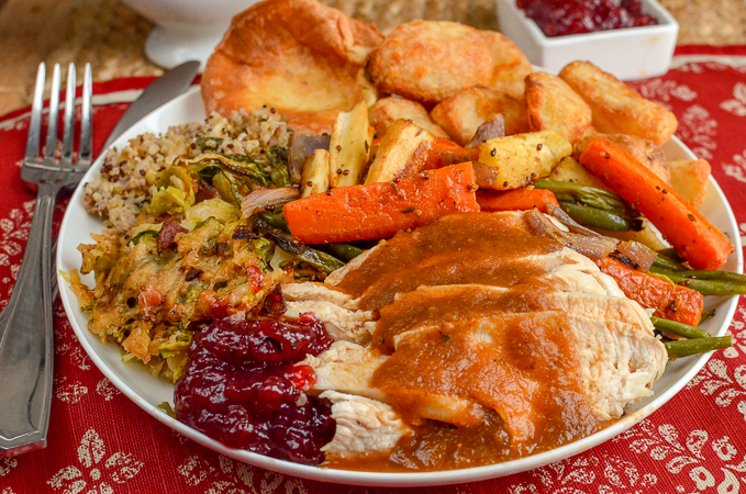 Slimming Eats - The Perfect Low Syn Christmas Dinner - Slimming World and Weight Watchers friendly