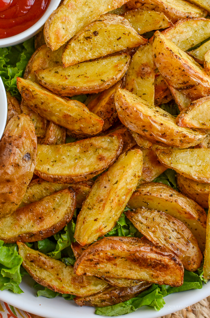 spicy potato wedges slimming world