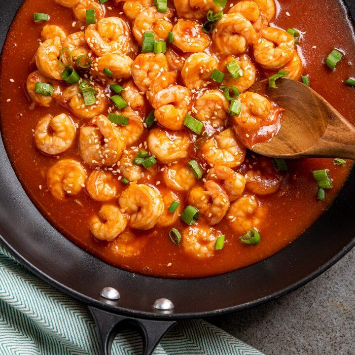 Syn Free Sweet and Sour Shrimp (Prawns)