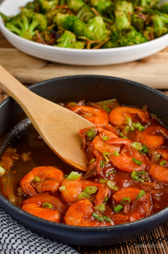 Syn Free Sweet and Sour Shrimp   Slimming World
