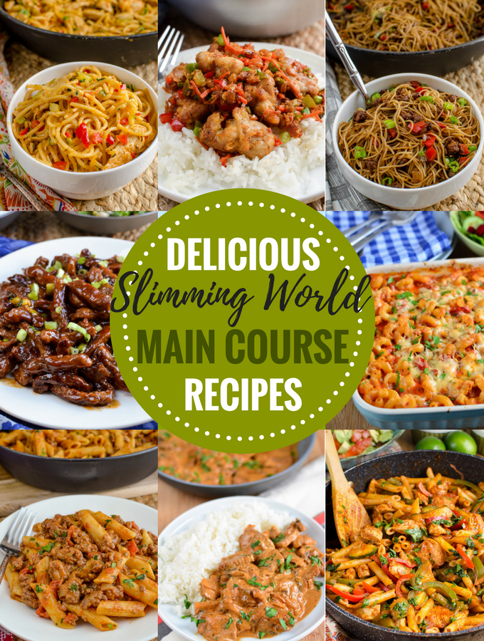 Enjoyable Slimming World Main Course Recipes Slimming Eats Home Remodeling Inspirations Genioncuboardxyz