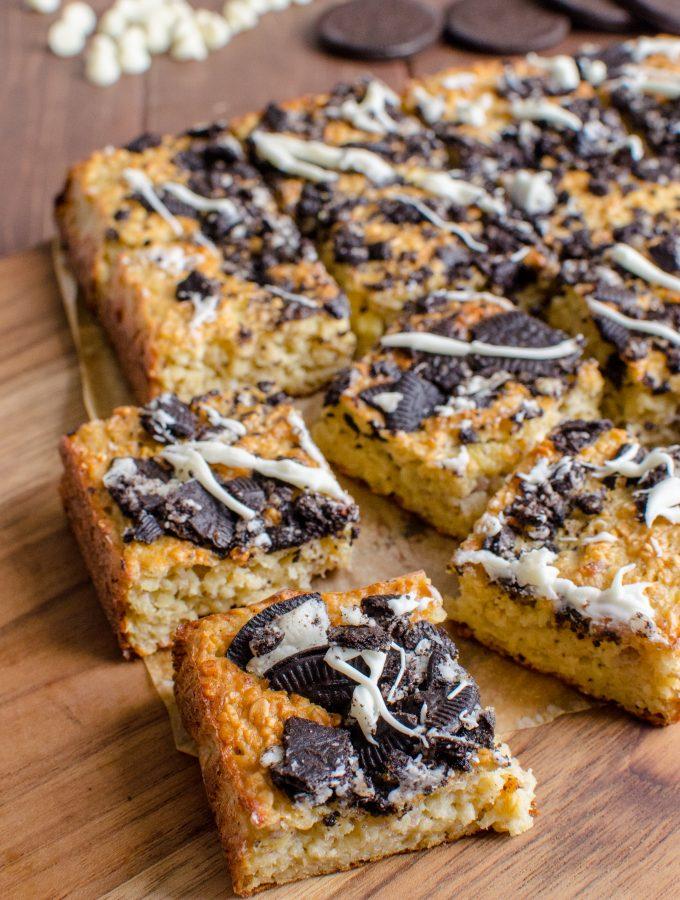 Cookies and Cream Oat Bites | Slimming World