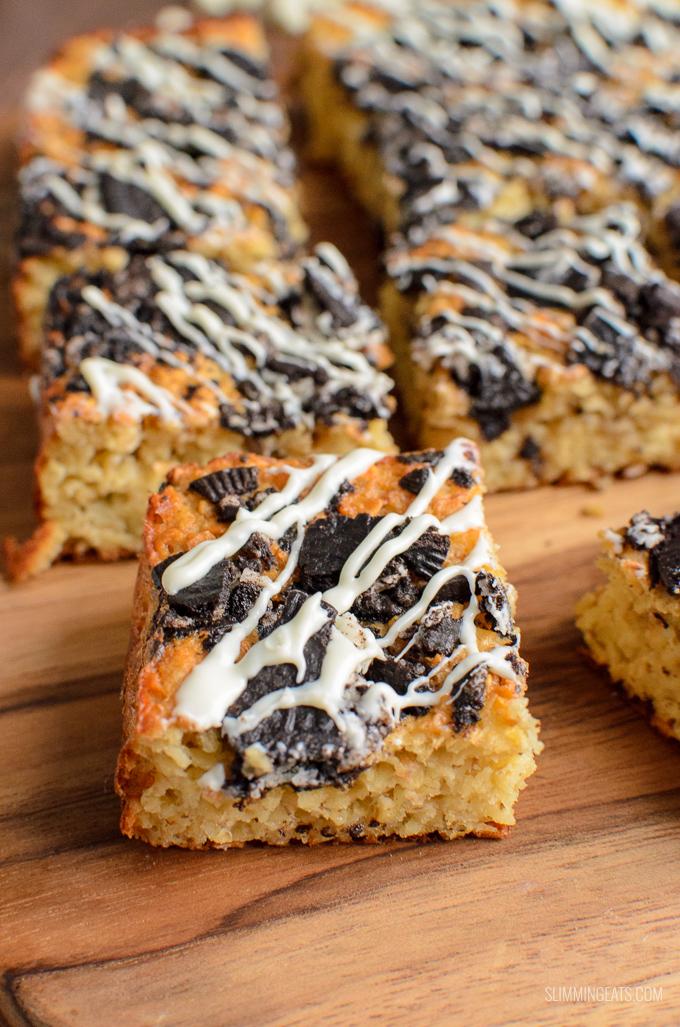 Cookies and Cream Oat Bites