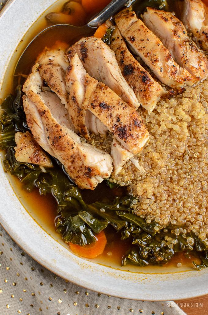 Syn Free Healthy Chicken Quinoa Bowl | Slimming World