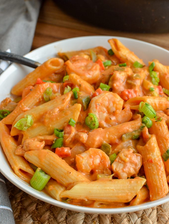 One Pot New Orleans Cajun Pasta | Slimming World