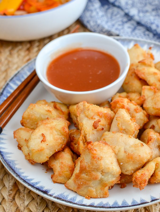 Actifry Sweet and Sour Chicken Bites | Slimming World